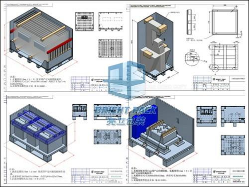 木箱包装方案设计图